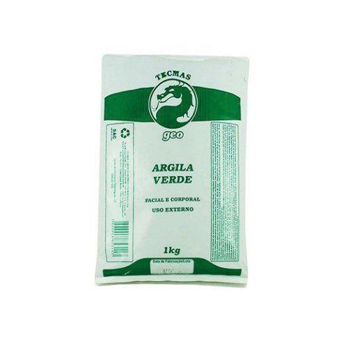 Argila Verde 1kg Facial e Corporal Tecmas Geo