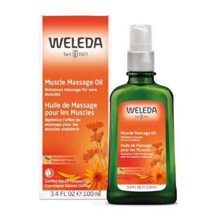 Arnica Massage Oil Weleda 100 ml