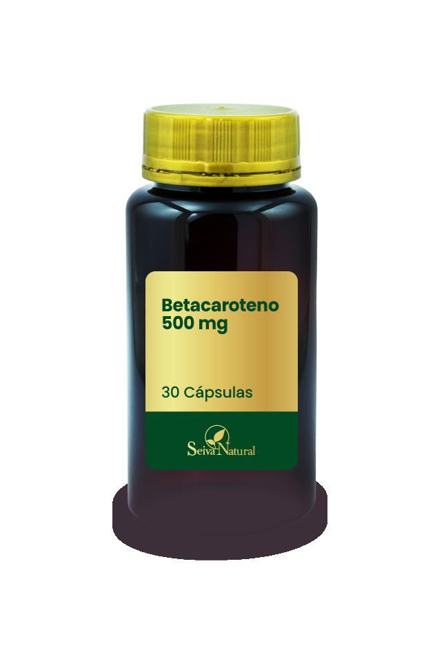 Betacaroteno 500 mg 30 Cápsulas