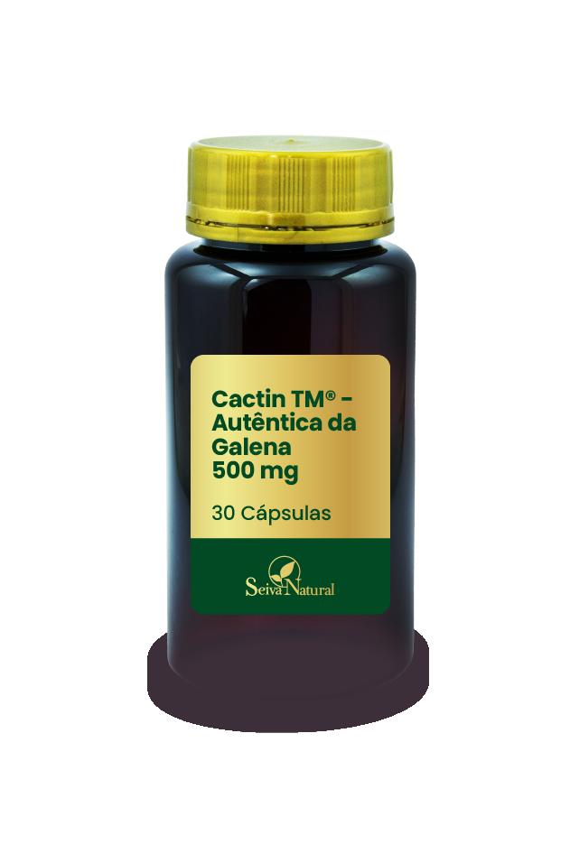 Cactin TM 500 mg - Autêntica da Galena 30 Cápsulas