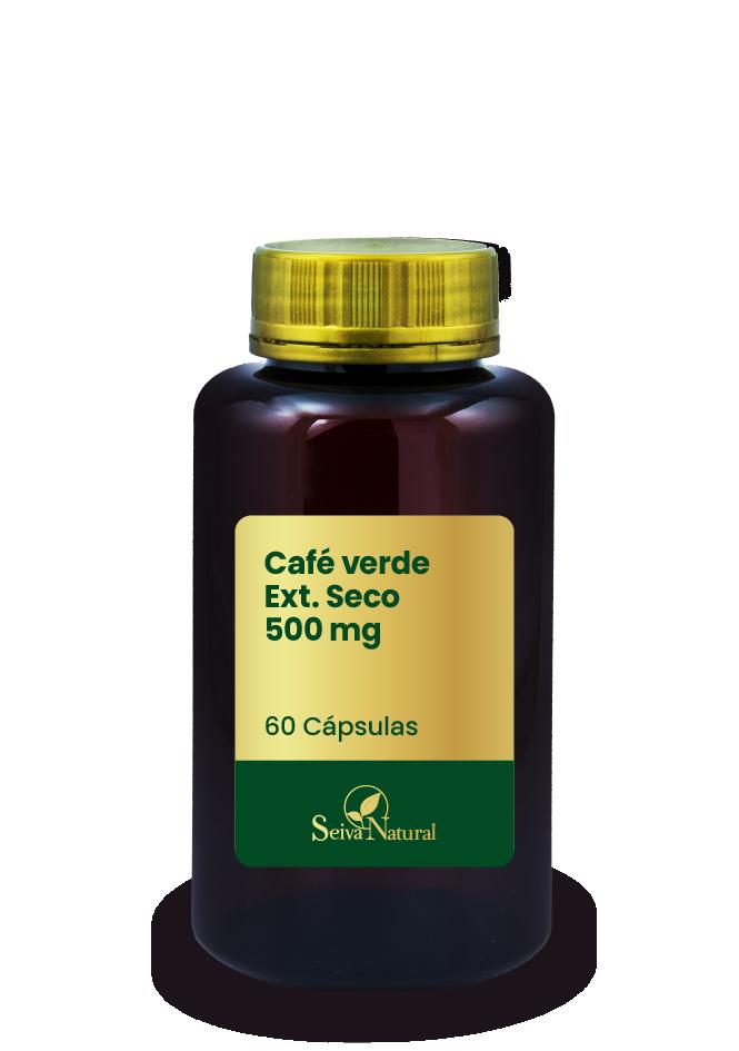 Café verde Ext. Seco 500 mg 60 Cápsulas