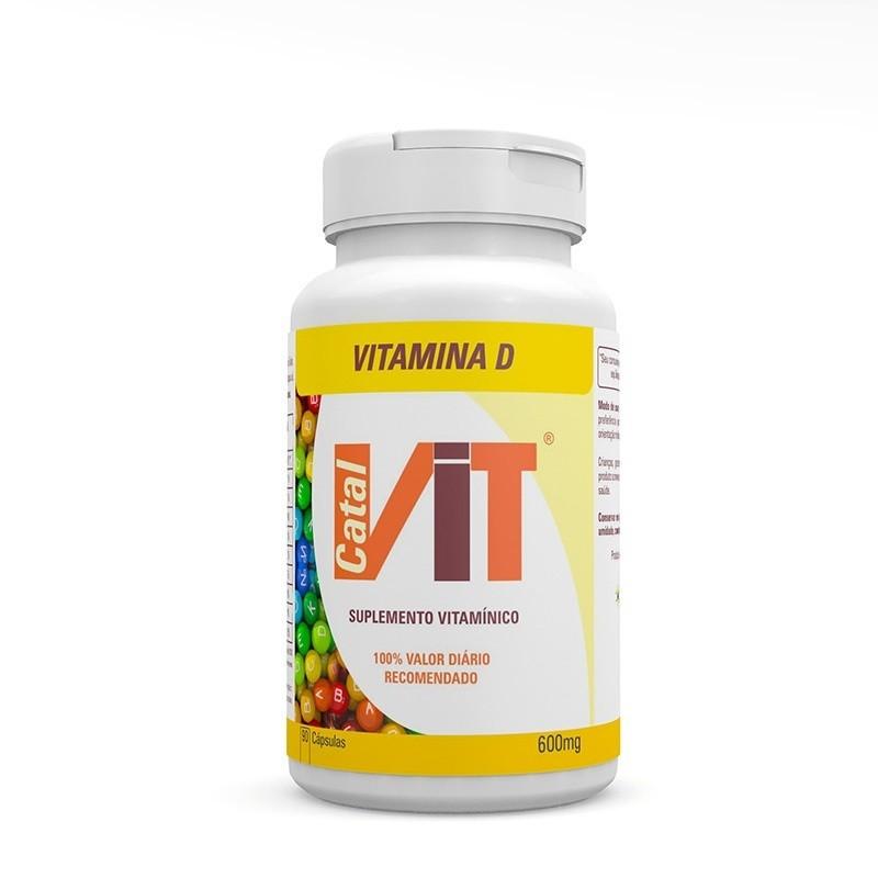 Catalvit Vitamina D 600 mg 90 Cápsulas Catalmedic