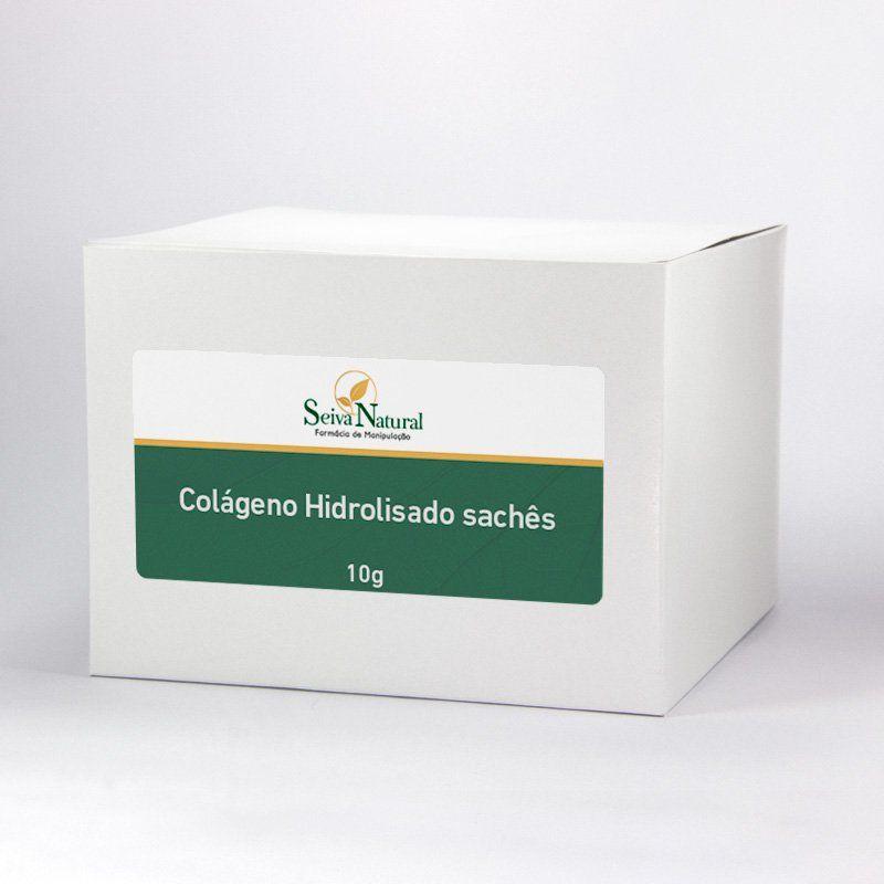 Colágeno hidrolisado sachês de 10g