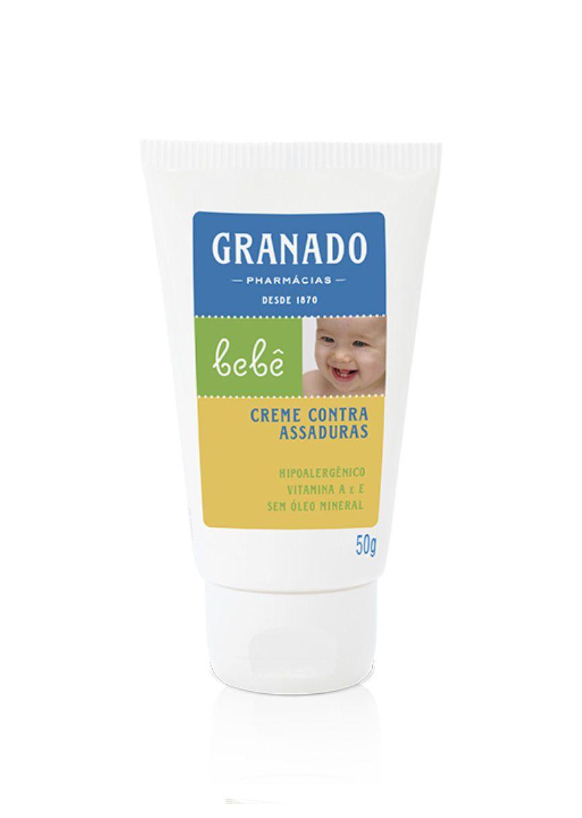 Creme Contra Assaduras Bebê Granado 50g