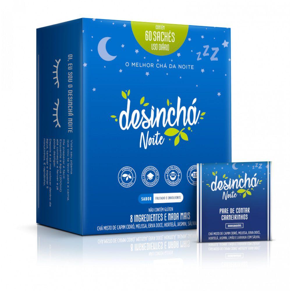 Desinchá Noite Display com 60 Sachês