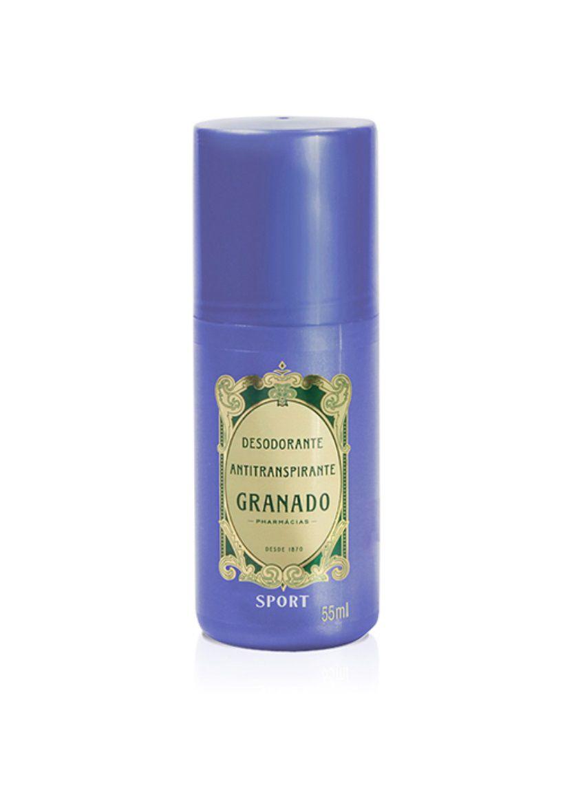 Desodorante Antitranspirante Roll-on Sport Granado 55ml