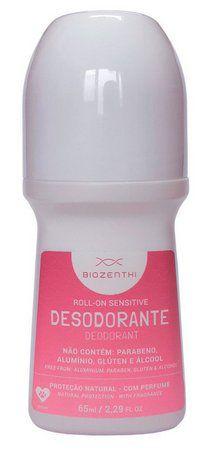 Desodorante Roll-On Sensitive 65 ml Biozenthi