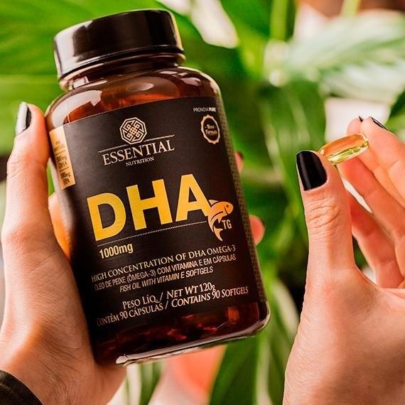 DHA TG 1000 mg Essential 90 Cápsulas