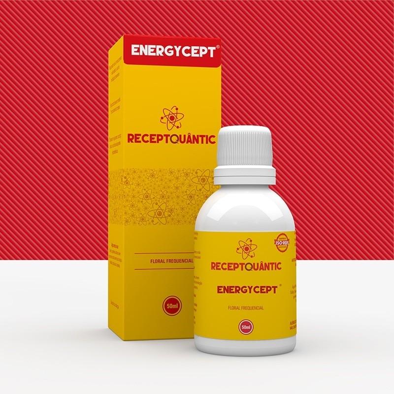 Energycept 50ml Receptquantic Floral Frequencial Fisioquantic