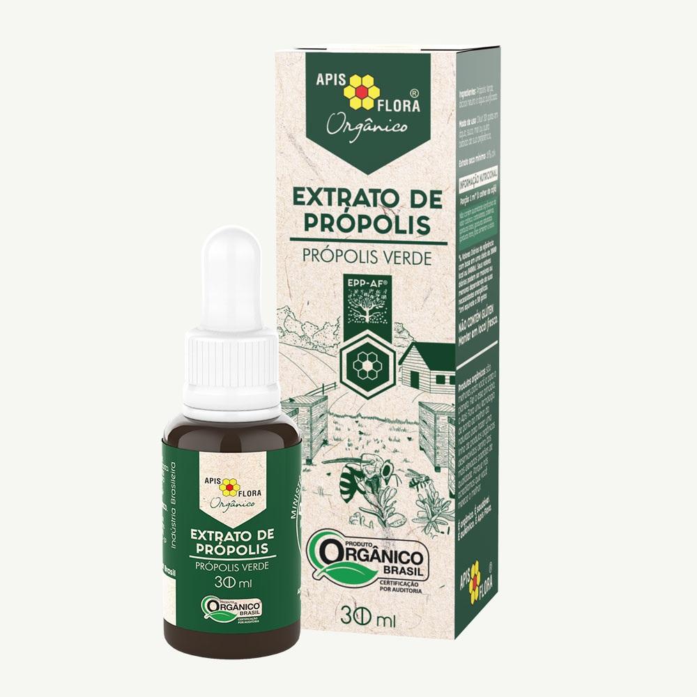 Extrato de Própolis Verde Orgânico Apis Flora Frasco 30 ml