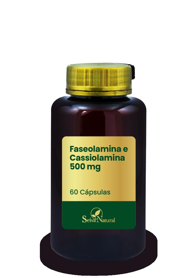 Faseolamina e Cassiolamina 500 mg 60 Cápsulas