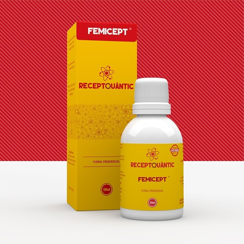 Femicept 50ml Receptquantic Floral Frequencial Fisioquantic