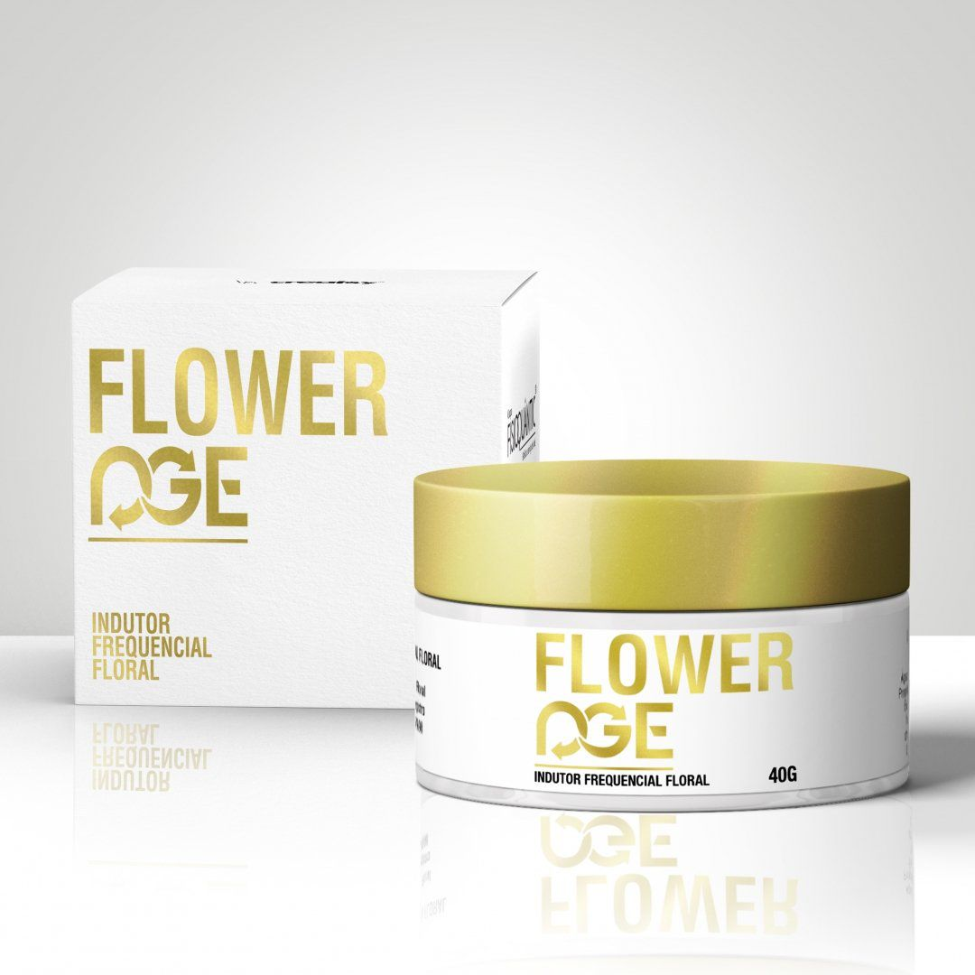 Flower Age 40g Indutor Frequencial Floral Fisioquantic