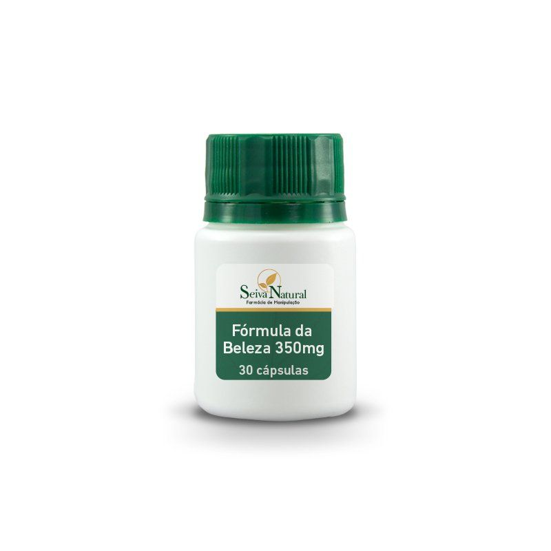 Fórmula da Beleza 350 mg 30 Cápsulas