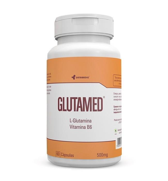 Glutamed 500 mg 60 Cápsulas