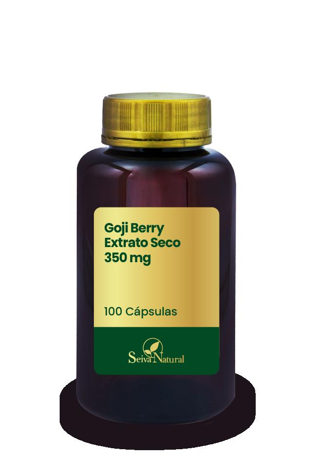 Goji Berry Extrato Seco 350 mg 100 Cápsulas