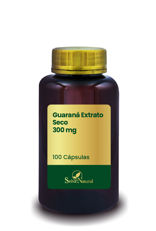 Guaraná Extrato Seco 300 mg 100 Cápsulas