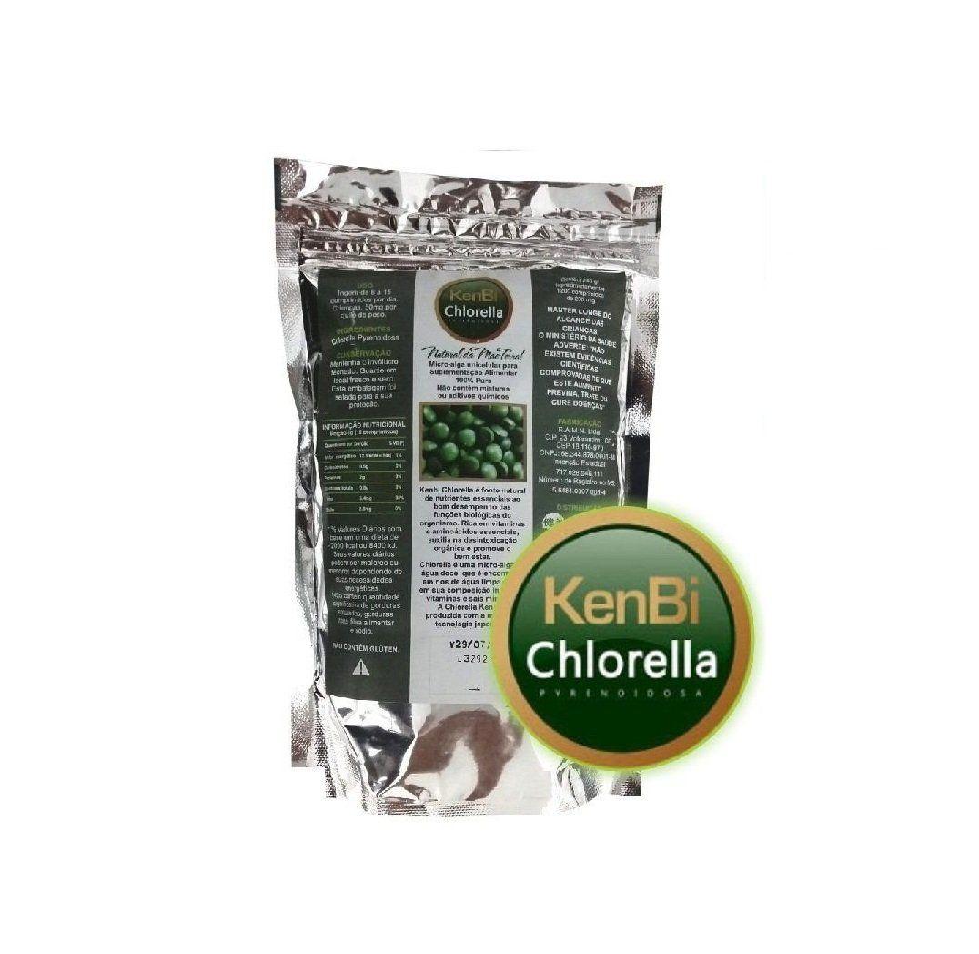 Kenbi Chlorella 1200 comprimidos