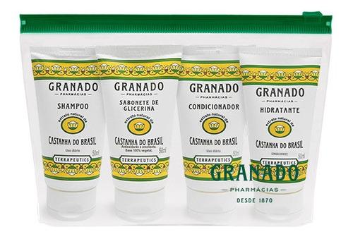 Kit Viagem Castanha do Brasil Granado