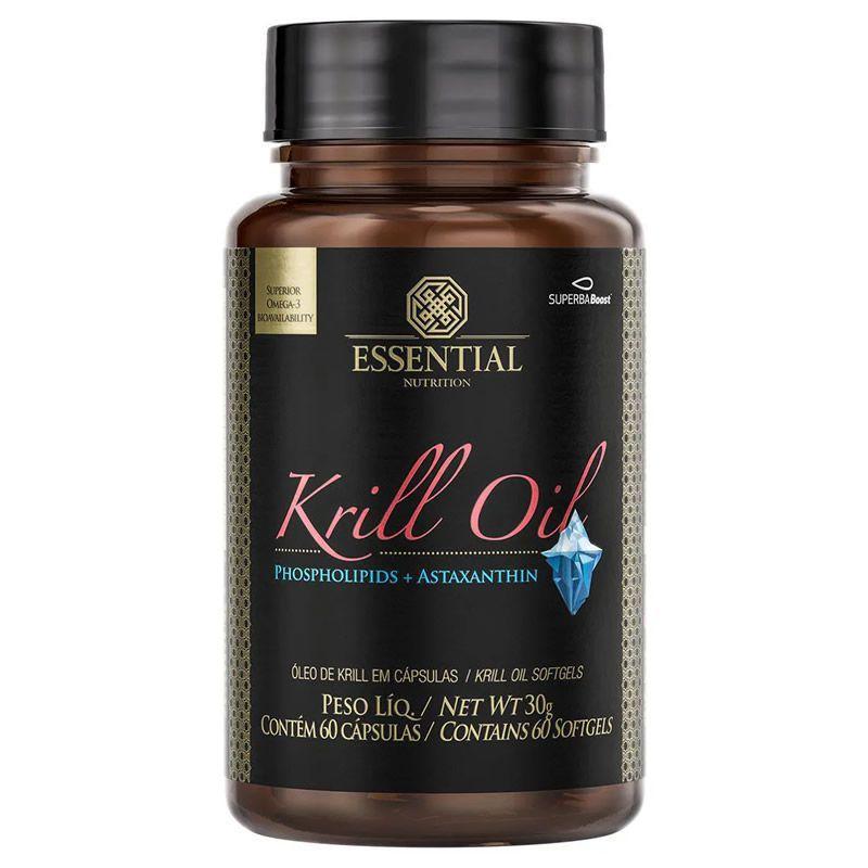 Krill Oil EPA + DHA 60 Softgels Essential