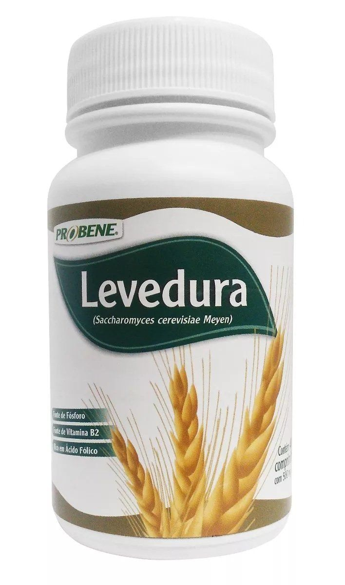 Levedura de Cerveja 500 mg 400 Cápsulas Probene