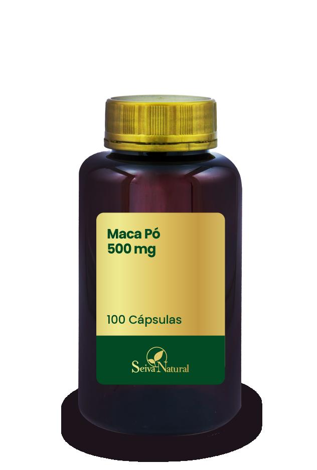 Maca Peruana Pó 500 mg 100 Cápsulas