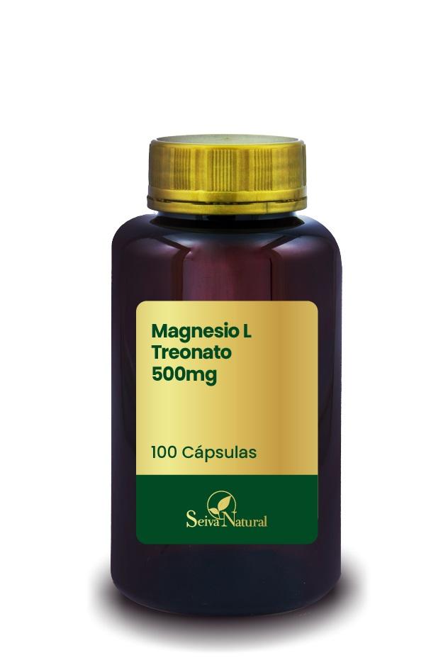 Magnésio L Treonato 500 mg 100 cápsulas