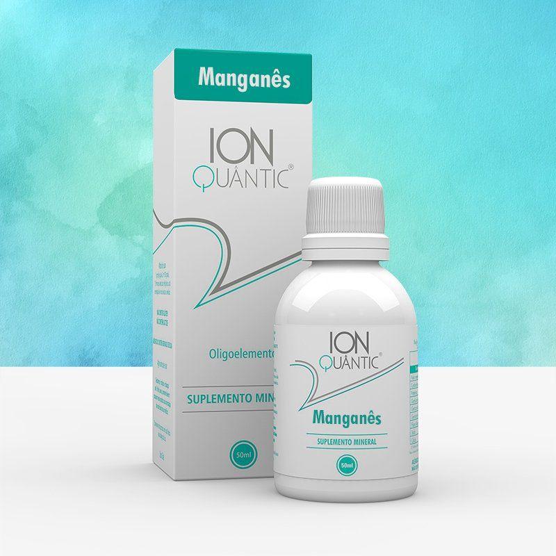 Manganês 50 ml Ionquantic Oligoelemento Fisioquantic