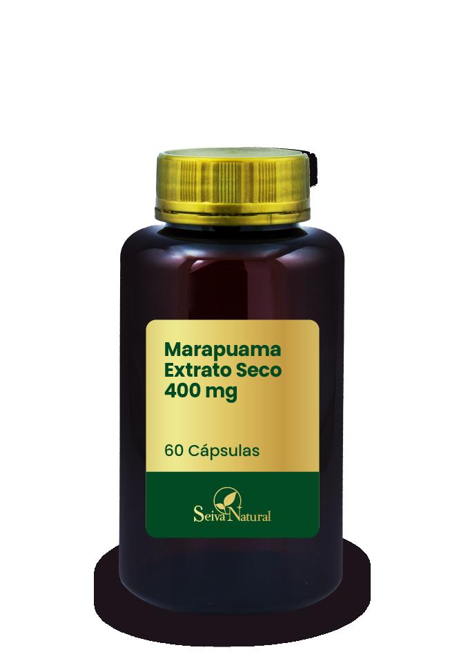 Marapuama Extrato Seco 400 mg 60 Cápsulas