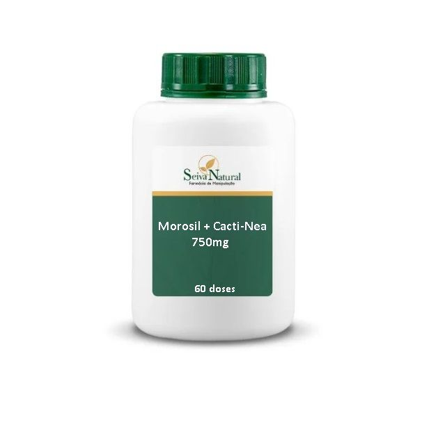 Morosil e Cactin 750 mg 60 Doses