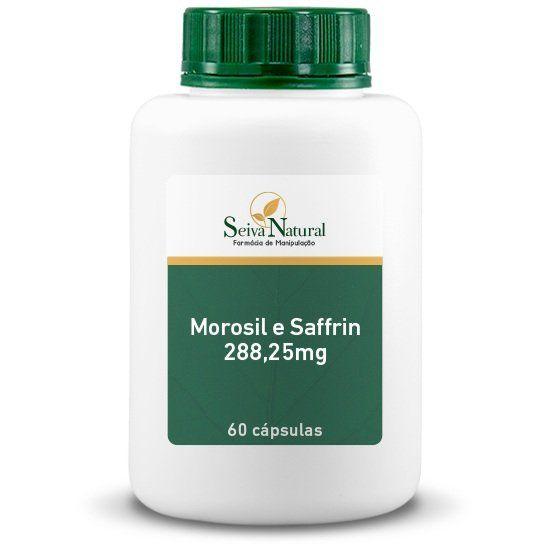 Morosil e Saffrin 288,25 mg 60 Cápsulas