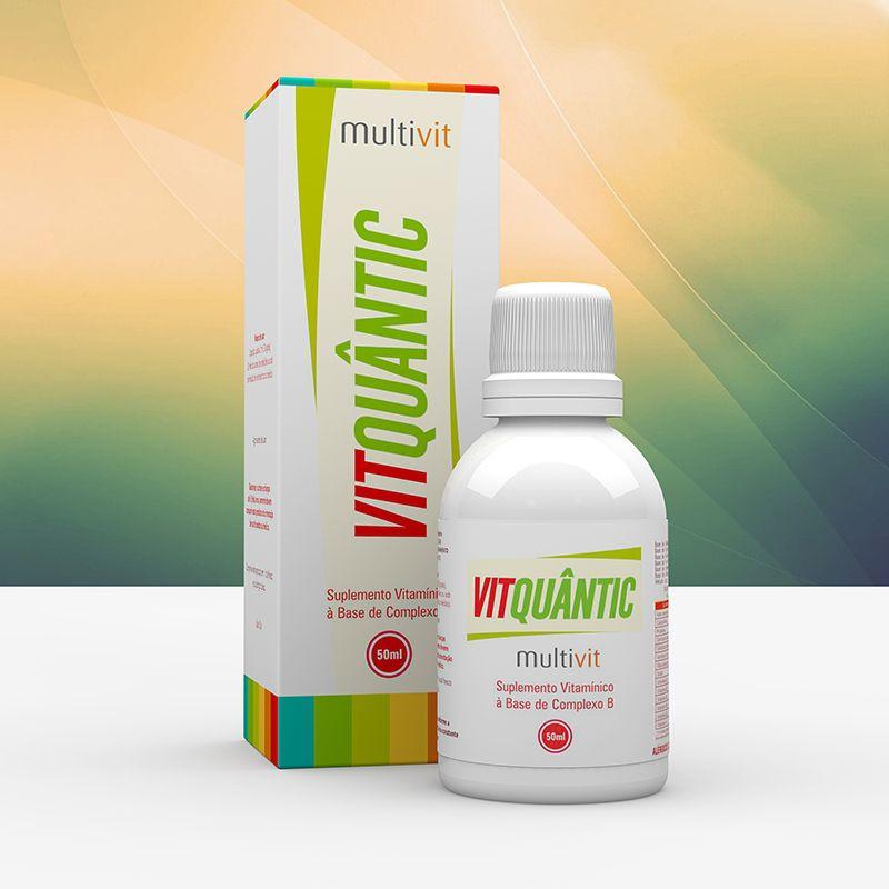 Multivit 50ml Vitquantic Suplemento Vitamínico Fisioquantic