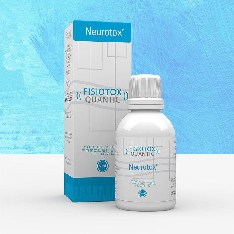 Neurotox 50ml Fisiotox Floral Frequencial Fisioquantic
