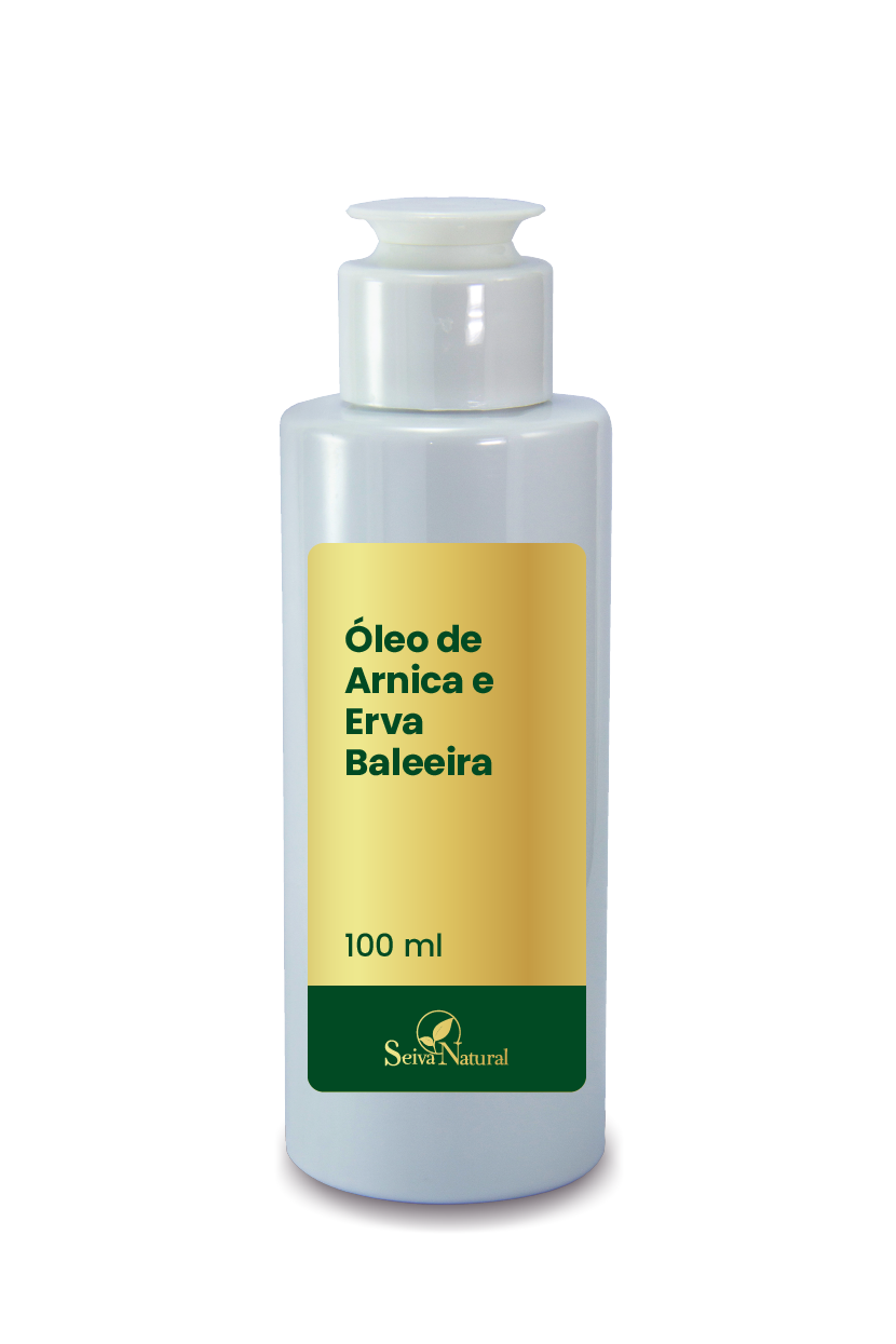 Óleo de Arnica e Erva Baleeira 100 ml
