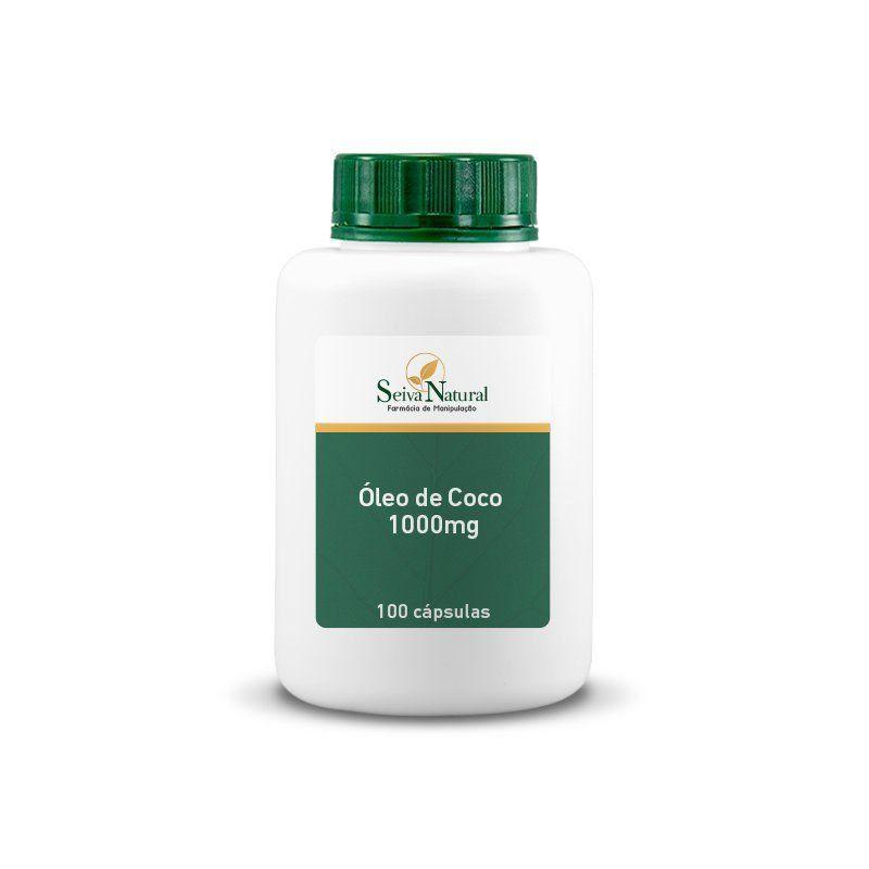 Óleo de Coco 1000 mg 100 Cápsulas