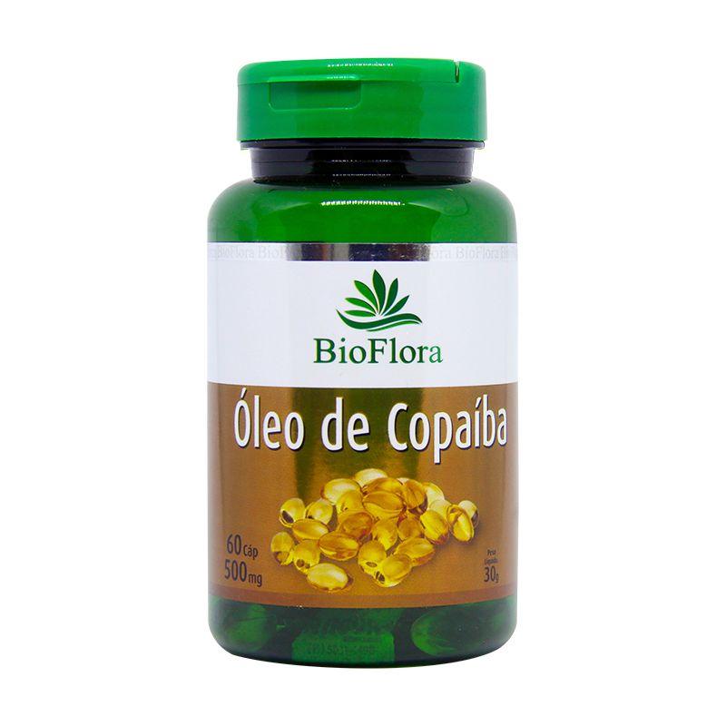 Óleo de Copaíba 500 mg com 60 Cápsulas Bioflora