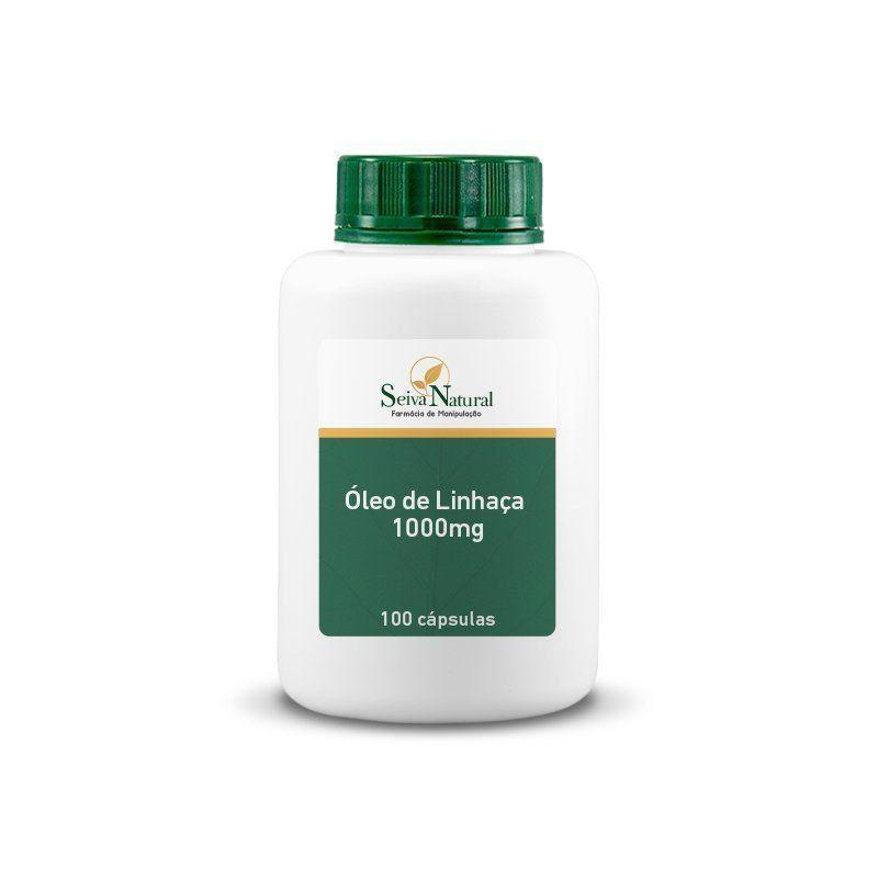 Óleo de Linhaça 1000 mg 100 Cápsulas