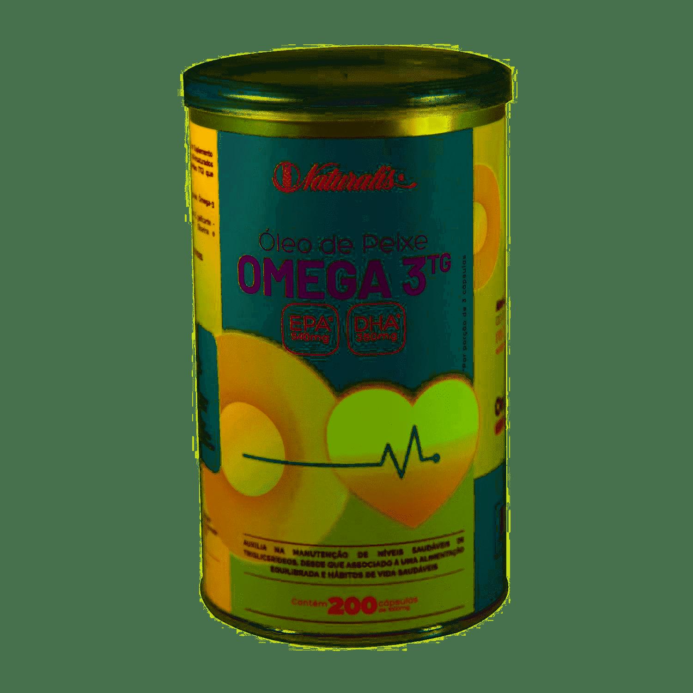 Óleo de Peixe Omega 3 1000mg 100 cápsulas Naturalis