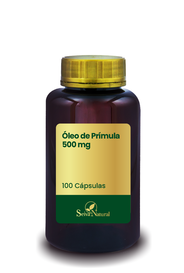 Óleo de Prímula 500 mg 100 Cápsulas