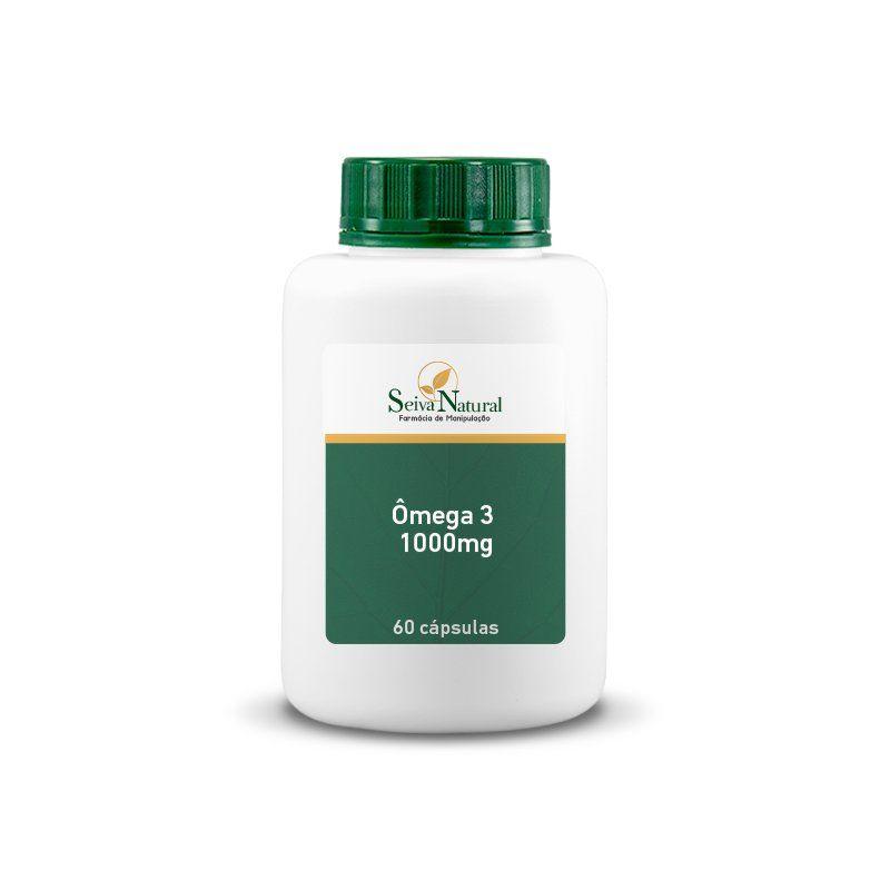 Ômega 3 1000 mg 60 Cápsulas