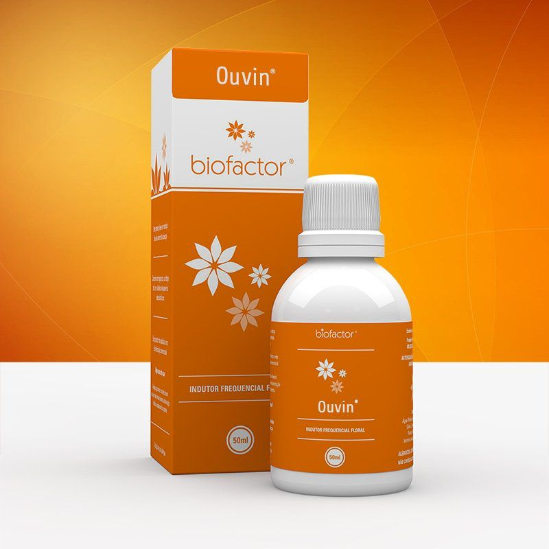Ouvin 50ml Biofactor Floral Frequencial Fisioquantic