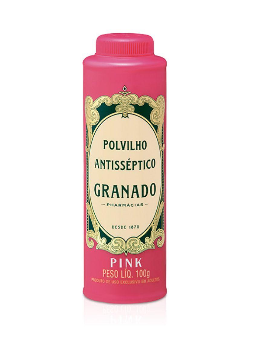 Polvilho Antisséptico Pink Granado 100 g