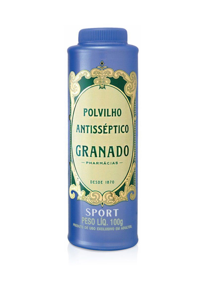 Polvilho Antisséptico Sport Granado 100g
