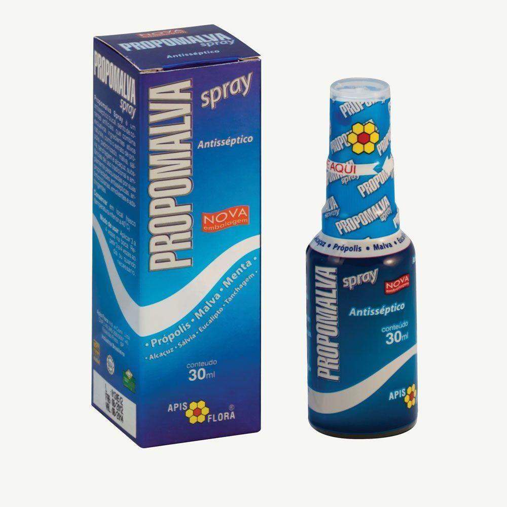 Própolis Spray Antisséptico Bucal 30ml Propomalva