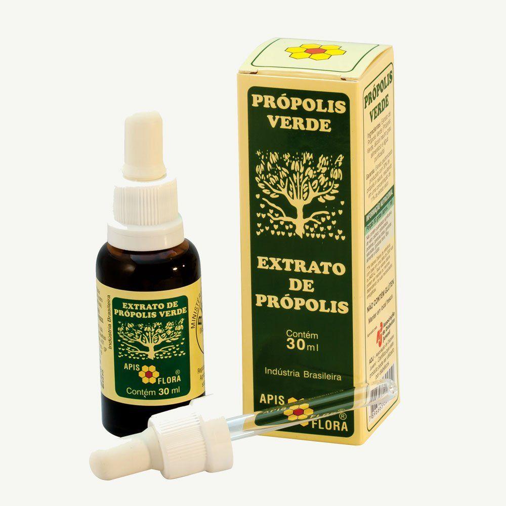 Extrato de Própolis Verde Apis Flora Frasco 30 ml