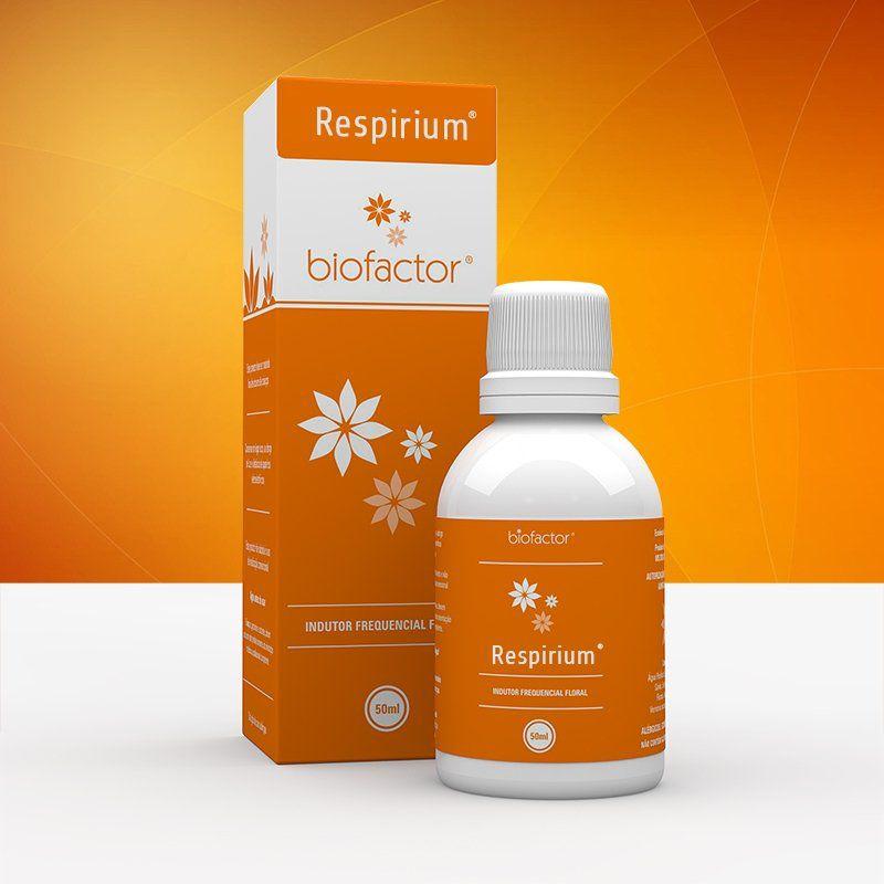 Respirium 50ml Biofactor Floral Frequencial Fisioquantic