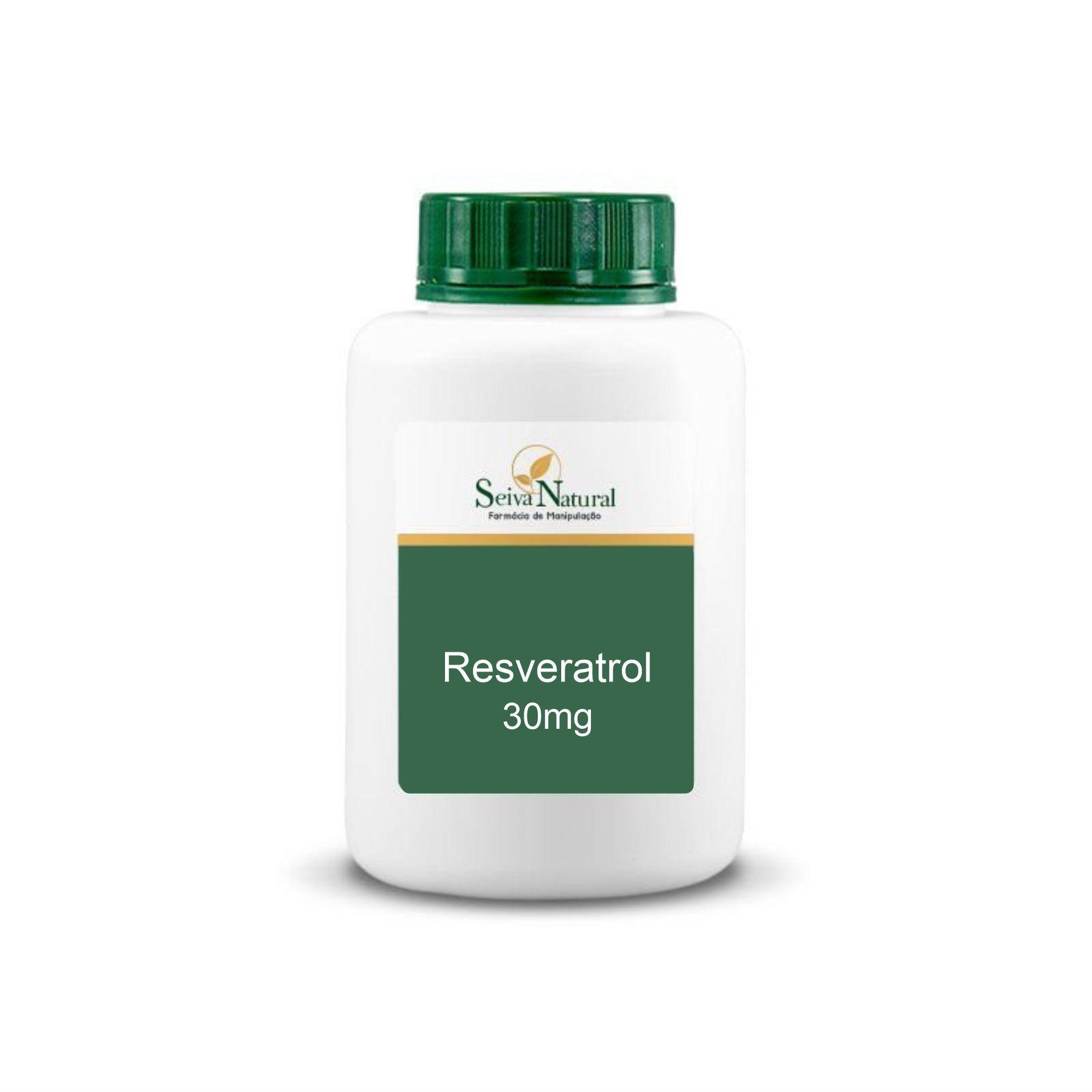 Resveratrol 30 mg 100 cápsulas