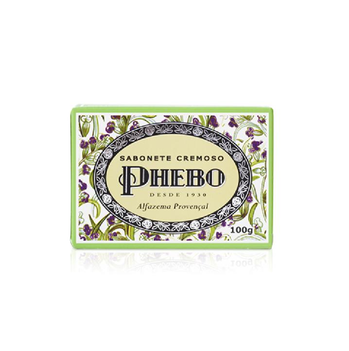 Sabonete Cremoso Alfazema Provençal Phebo 100g