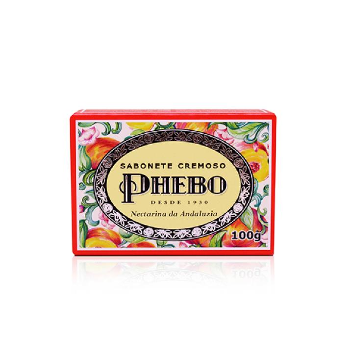 Sabonete Cremoso Nectarina da Andaluzia Phebo 100g