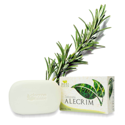 Sabonete de Alecrim 100g Dermaclean